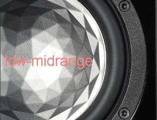 ELAC 180mm AS-XR cone low midrange driver