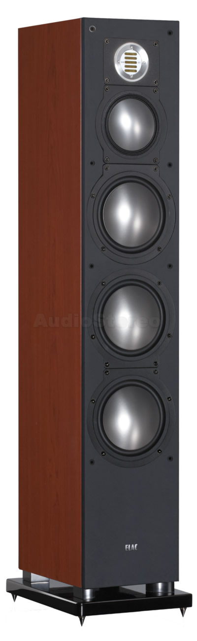 ELAC FS 189 cherry decor (black painted, soft-finish baffle)