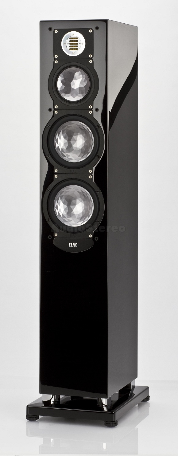 ELAC FS 249 black high gloss